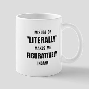 Literally Figuratively Mug
