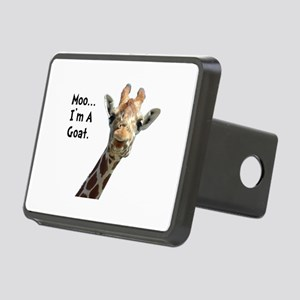 Moo Giraffe Goat Rectangular Hitch Cover