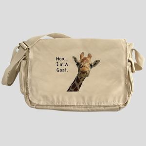 Moo Giraffe Goat Messenger Bag