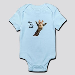 Moo Giraffe Goat Infant Bodysuit