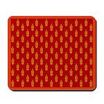 All In Orange Decor Mousepad
