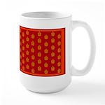 All In Orange Decor Large Mug