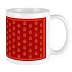 All In Orange Decor Mug