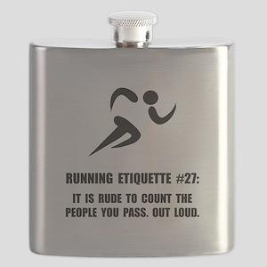 Running Etiquette Flask