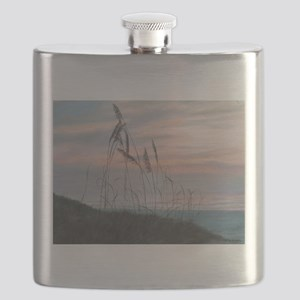 BEACH MORNING VIEW Flask