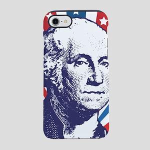 george washington iPhone 7 Tough Case