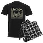 Chicago Men's Dark Pajamas