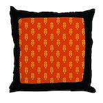 All In Orange Decor Throw Pillow
