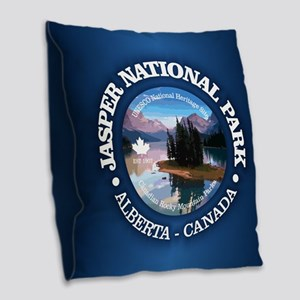 Jasper NP Burlap Throw Pillow