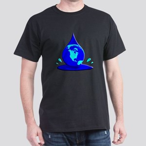 Earths Water Supply is Dwindling Dark T-Shirt