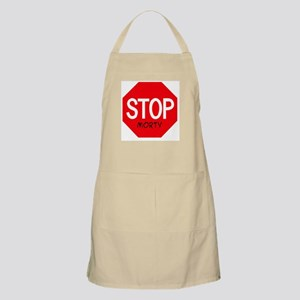 Stop Morty BBQ Apron