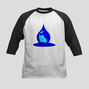 Save Water Please Kids Baseball Jersey