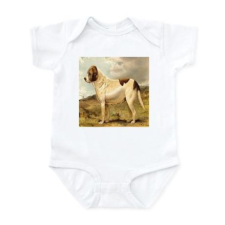 White St. Bernard 1880 Digita Infant Bodysuit