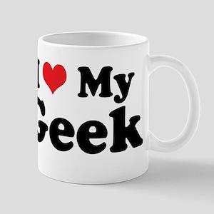 I Heart My Geek Mug