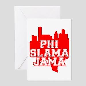 Phi Slama Jama Greeting Card