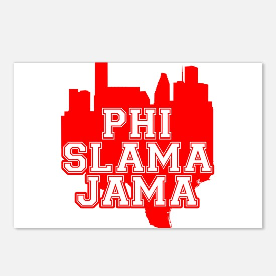 Phi Slama Jama Postcards (Package of 8)