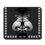 Black and White Decor Mousepad