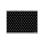 Black and White Decor 5'x7'Area Rug