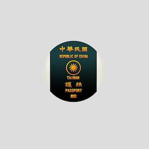PASSPORT(TAIWAN) Mini Button