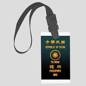 PASSPORT(TAIWAN) Large Luggage Tag