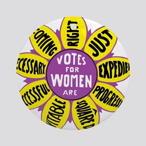 Votes for Women Vintage - color Round Ornament