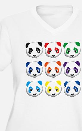 multi panda.png T-Shirt