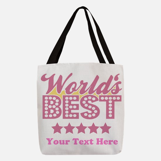Worlds Best Customized Polyester Tote Bag