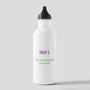 INFJ Moods Stainless Water Bottle 1.0L