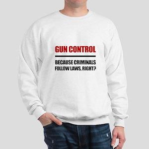 Gun Control Sweatshirt