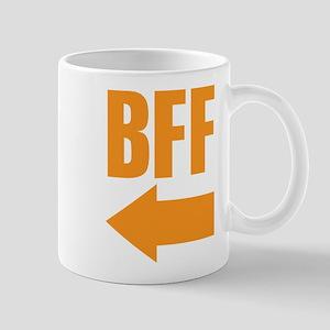 My BFF is on my right Mug