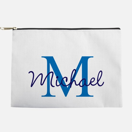 Personalize Initials and Name Makeup Pouch