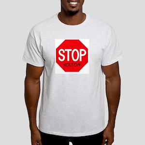Stop Kolton Ash Grey T-Shirt