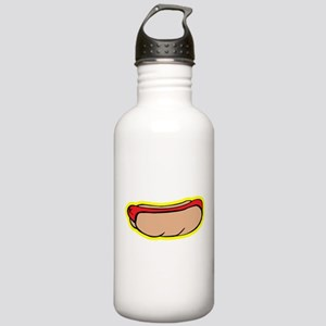 Cool retro hot dog Stainless Water Bottle 1.0L