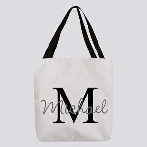 Monogram customized Polyester Tote Bag