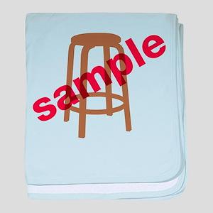 Stool Sample baby blanket