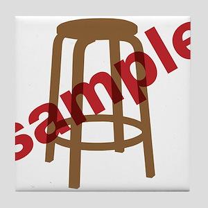 Stool Sample Tile Coaster