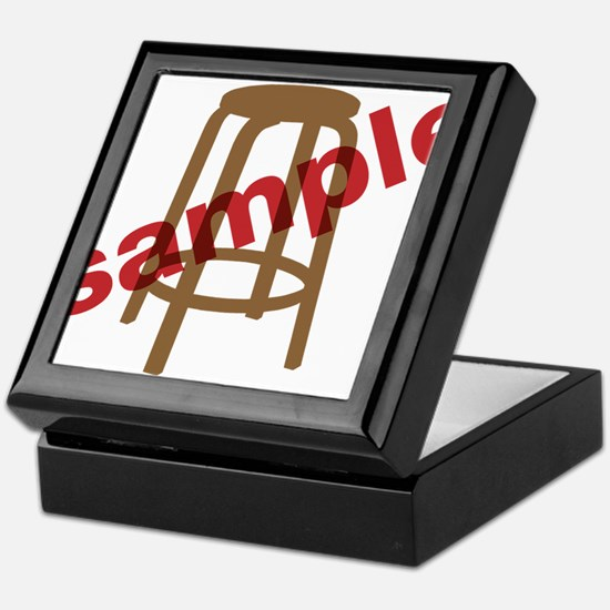 Stool Sample Keepsake Box
