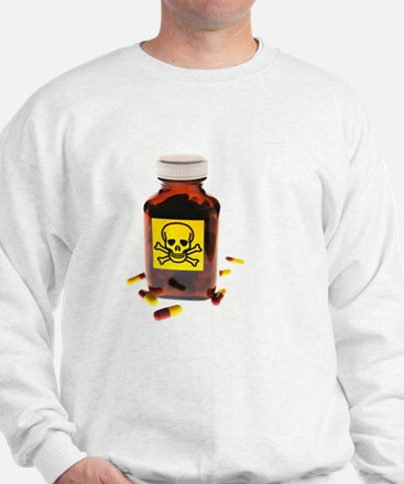 Toxic medication, conceptual image - Sweatshirt