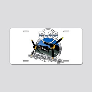 P38 Lightning Aluminum License Plate