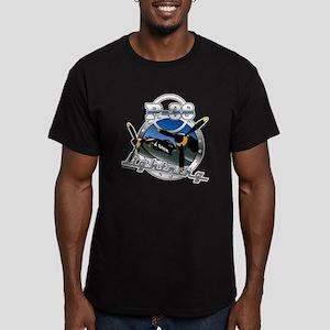 P38 Lightning Men's Fitted T-Shirt (dark)