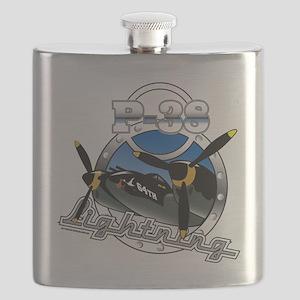 P38 Lightning Flask