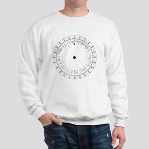 Time zones wheel, 19th century - Sweatshirt