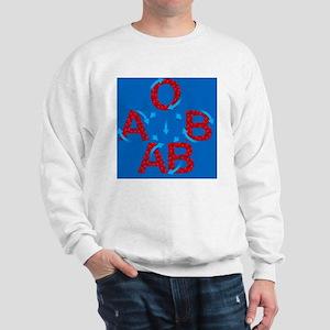 Blood groups - Sweatshirt