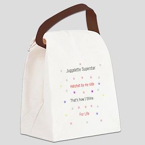 Juggalette Superstar Canvas Lunch Bag
