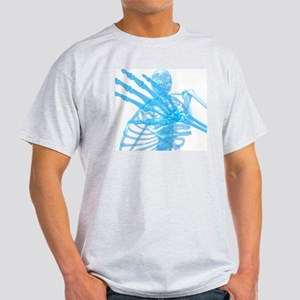 Human skeleton, artwork - Light T-Shirt