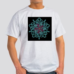 Coxsackie B3 virus particle - Light T-Shirt