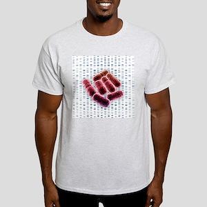 E coli bacteria, artwork - Light T-Shirt