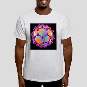 Buckminsterfullerene Earth, artwork - Light T-Shir