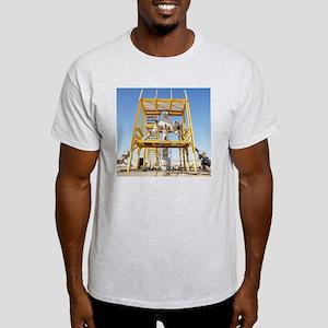 Christmas tree assembly - Light T-Shirt