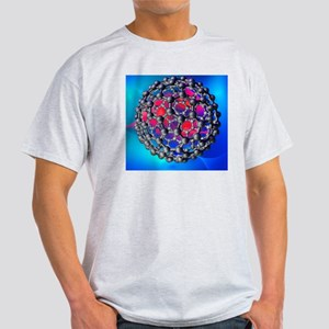 Buckyball molecule, artwork - Light T-Shirt